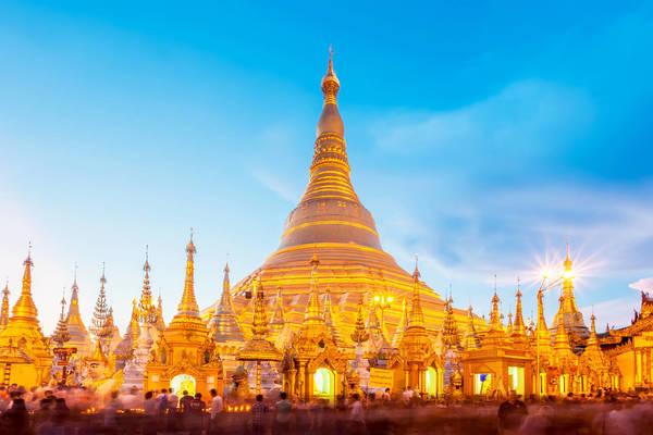 Voyage en Birmanie - La fameuse SchewDagon de Yangon