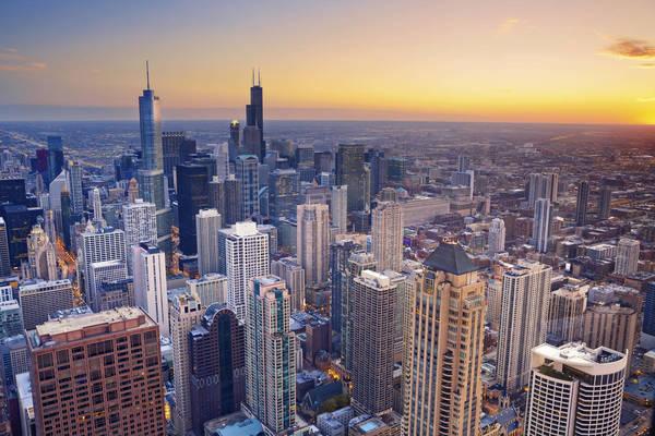 Voyage aux Etats-Unis, Chicago vu du ciel