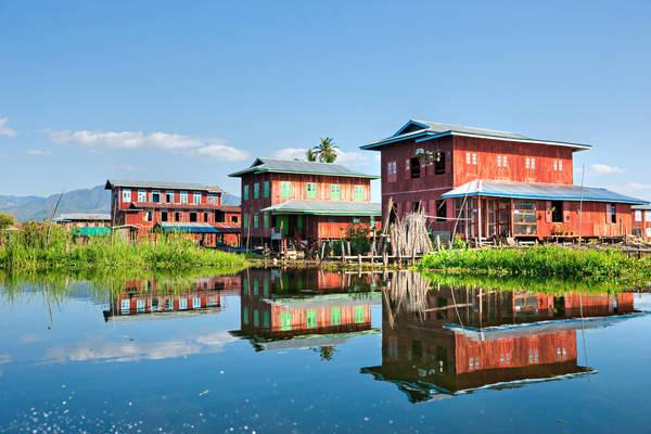 Voyage en Birmanie - Les Villages Inthas du Lac Inle