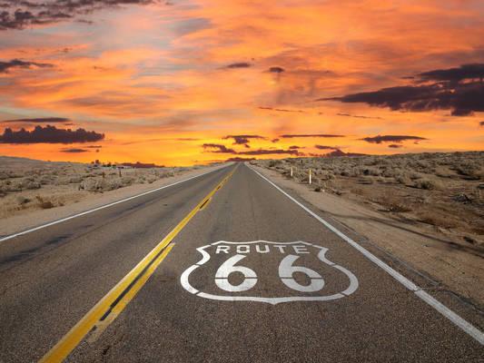 Voyage aux Etats-Unis, la route 66 © fotolia