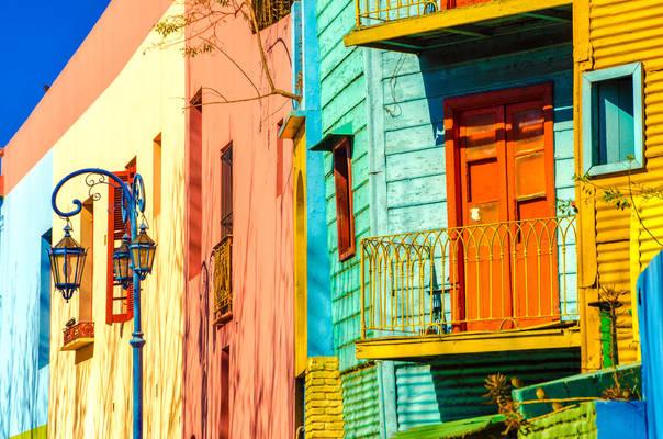 Voyage en Argentine, Buenos Aires, le Quartier de la Boca