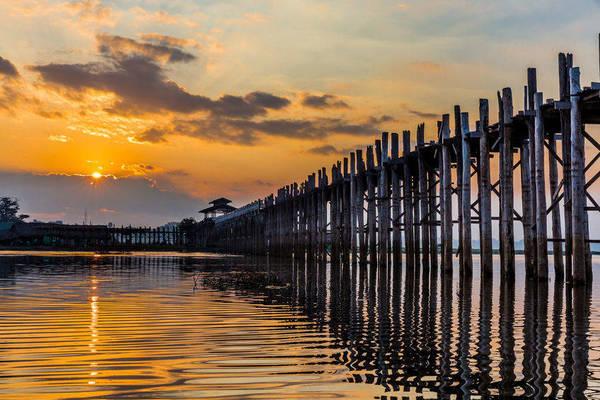Voyage en Birmanie - Pont Ubein
