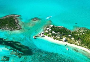 Combiné Nassau, Great Exuma, Long island, voyage Amérique du Nord