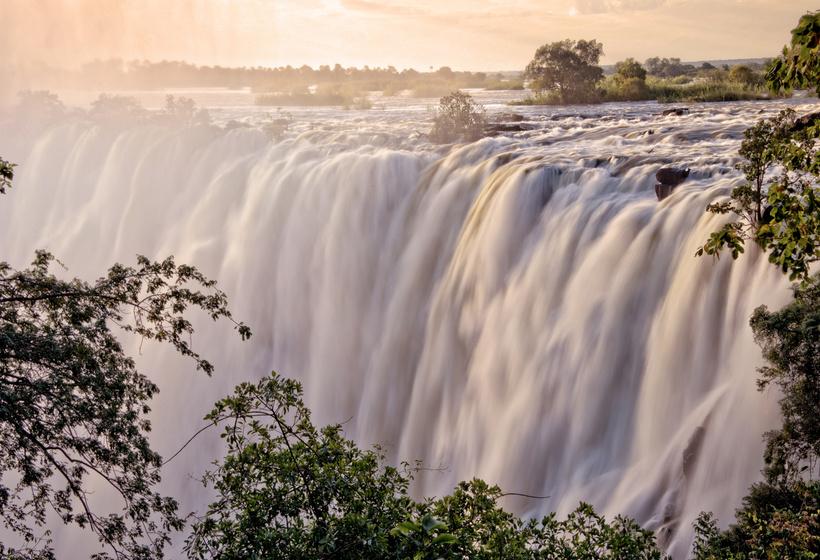 De Johannesburg aux Chutes Victoria en train de légende, voyage Afrique