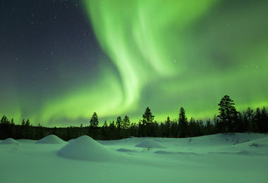 Un hiver en Laponie Finlandaise, voyage Europe