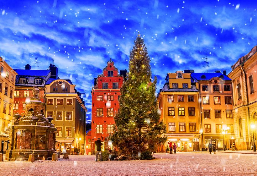 Noël 2021 en Suède, voyage Europe