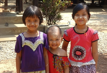 Sourires Birmans, voyage Asie et Océanie