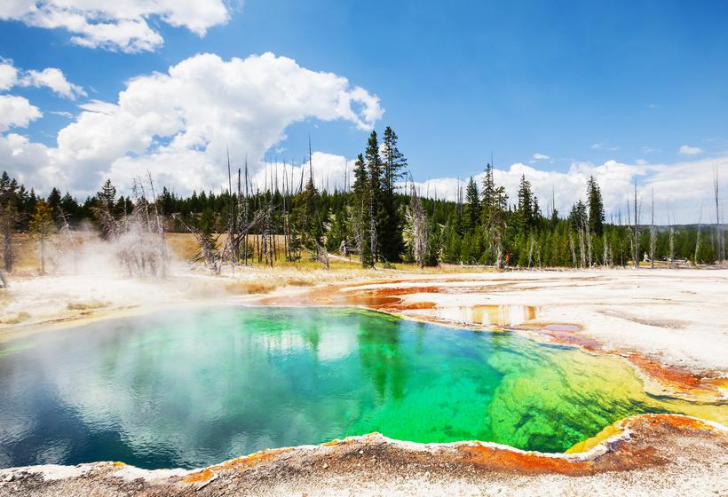 Des Yellowstone aux Rocheuses américaines - glaciers, geysers et lacs, voyage Amérique du Nord