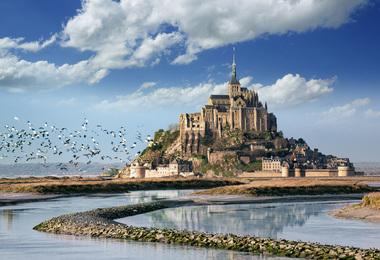 Merveilles de Normandie, voyage Europe