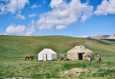 Voyage au Kirghizistan : Trekking en montagne céleste, voyage Asie et Océanie