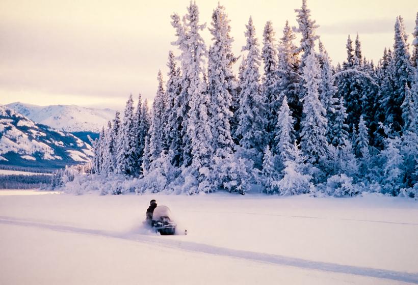 L'hiver au lodge Sacacomie, voyage Amérique du Nord
