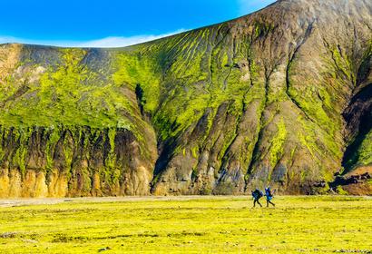 Randonnée de Landmannalaugar à Skogar, voyage Europe