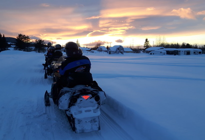 Séjour motoneige au Canada - Semaine Blanche, voyage Amérique du Nord