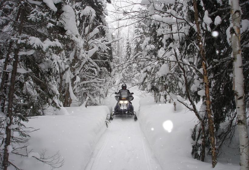 Séjour motoneige au Canada - Tour de la Gaspésie, voyage Amérique du Nord